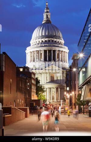 St. Pauls Cathedral, London, England, Vereinigtes Königreich, Europa