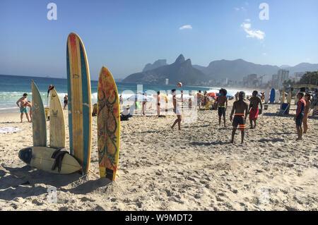 Strand IN RIO - Stockfoto