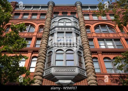 PIONEER BUILDING, Seattle - Stockfoto