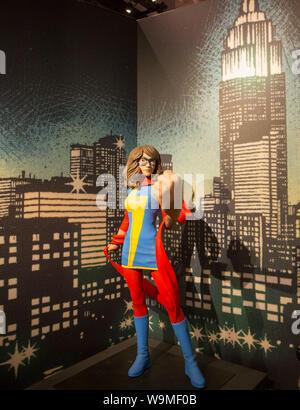 MARVEL: Universum von Superhelden, MUSEUM DER POPKULTUR, Seattle - Stockfoto