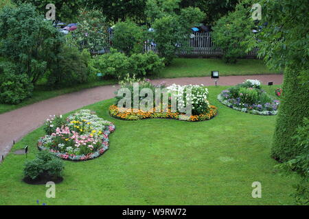 Alte, Catherine Park in St. Petersburg Big Russland - Stockfoto