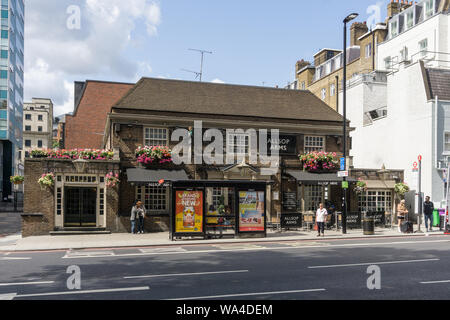 Allsop Arme, Teil der Greene King Kette, Gloucester Place, London, UK - Stockfoto