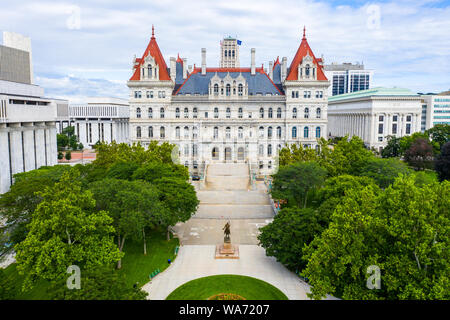 New York State Capitol, Albany, New York, USA - Stockfoto