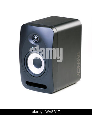 Tannoy offenbaren 502 Studio Monitor Lautsprecher - Stockfoto