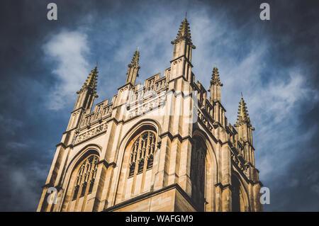 Magdalen College, Oxford, England. 2017 - Stockfoto