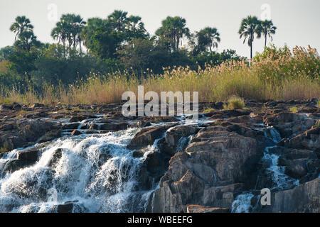 Victoria Falls in Zimbabwe, Afrika - Stockfoto