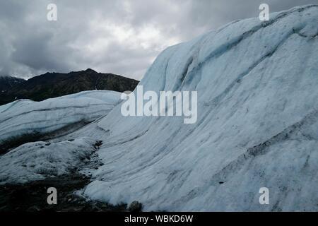 Malerische Ansicht des Matanuska Gletscher gegen Sky