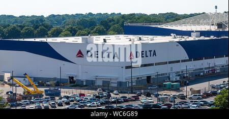 Weltweite Zentrale von Delta Airlines in Atlanta, Georgia - Stockfoto
