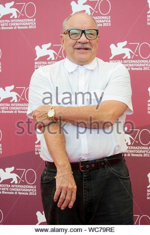 """Venedig, Italien - Paul Schrader besucht eine Foto Aufruf für """"Joe"""" bei den Filmfestspielen in Venedig 2013. AKM-GSI, 30. August 2013 - Stockfoto"""