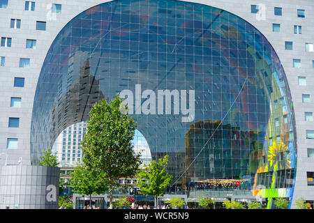 Halle Markthal Rotterdam, Niederlande. - Stockfoto
