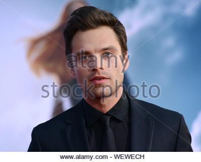 "Hollywood, CA - Sebastian Stan nimmt an ""Captain America: Der Winter Soldier' Premiere am El Capitan Theatre in Hollywood. AKM-GSI März 13, 2014 - Stockfoto"