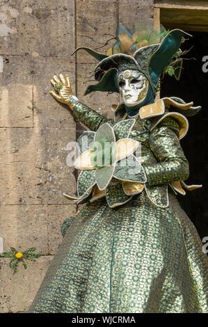 Venezianischen Karneval oder Karneval Vénetien in Longwy, Frankreich - Stockfoto