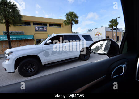 FLORIDA - 2019: Beste von Hurrikan - Stockfotos Menschen: Hurrikan Dorian Credit: Stürme Media Group/Alamy leben Nachrichten - Stockfoto