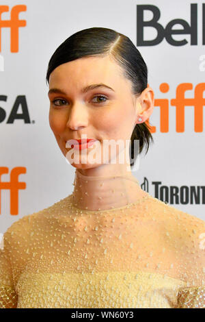 Toronto, Kanada. 05 Sep, 2019. - Schauspielerin Tilda Cobham-Hervey kommt für die Premiere von Ich bin Frau während der 2019 Toronto International Film Festival. Jamie Simon/JSP/EXimages. Credit: EXImages/Alamy leben Nachrichten - Stockfoto