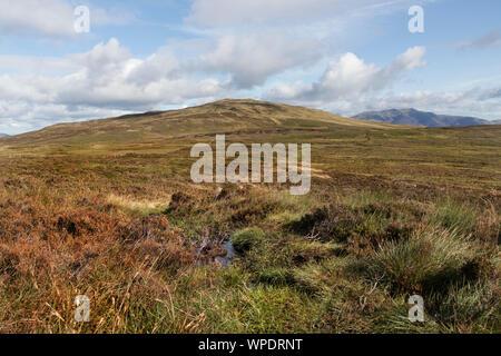 Hohen Sitz über die Moore als Pewits von Tove Lake District, Cumbria, UK - Stockfoto