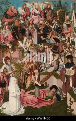 Die Wurzel Jesse, Geertgen Tot Sint Jans (Kreis), C. 1500.jpg - WW1 NG6 - Stockfoto