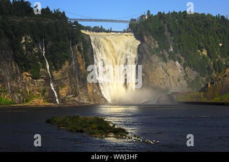 Montmorency Wasserfall, Kanada - Stockfoto