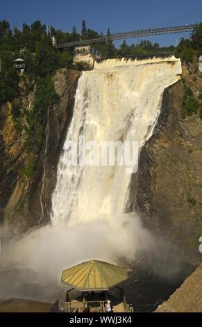 Montmorency Wasserfall, Beauport - Stockfoto