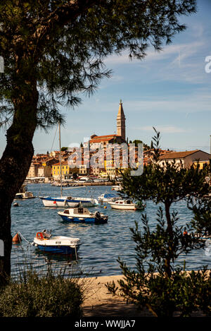 Rovinj, Istrien, Kroatien September 2019 - Stockfoto