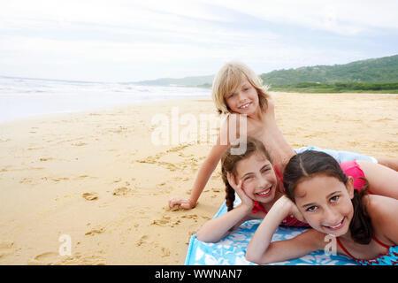 Kinder Urlaub am Strand - Stockfoto
