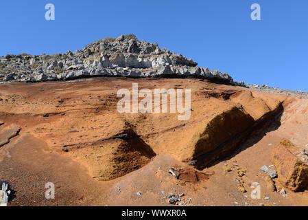 Felsen am Roque de Los Muchachos, La Palma - Stockfoto