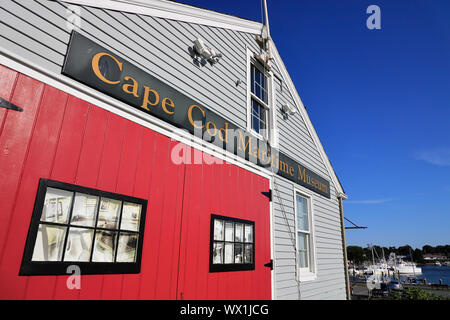 Cape Cod Maritime Museum. Hyannis. Maine. USA - Stockfoto