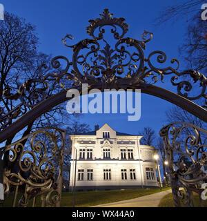 Villa Wippermann, regionale Heimatmuseum, Halver, Sauerland, Deutschland, Europa - Stockfoto
