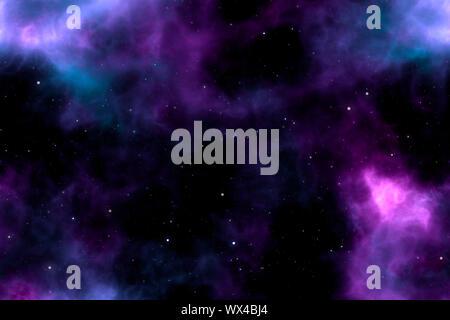 Das Bild eines großen Stars Hintergrund - Stockfoto