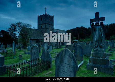 St. Andrew's Church, Clevedon, Somerset - Stockfoto