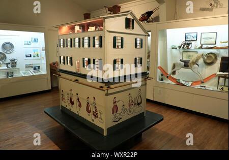 Innenansicht von Provincetown Museum innerhalb von Pilgrim Monument & Provincetown Museum Complex.Provincetown. Massachusetts. USA - Stockfoto