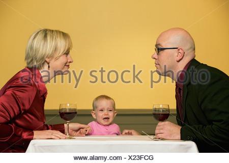 Romantisches Baby-Paar