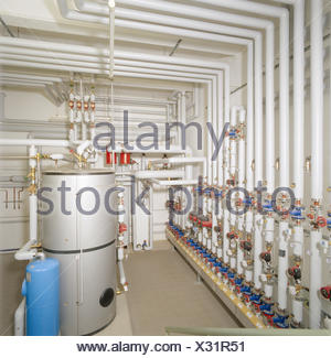 Boiler Warmwasser Stockfoto, Bild: 38127056 - Alamy