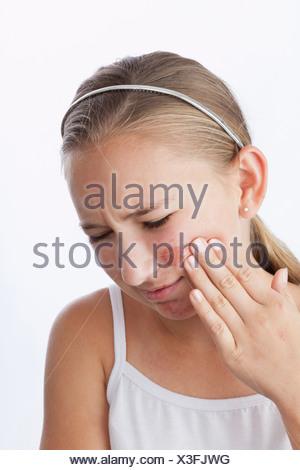 Mädchen Zusammengeschlagen