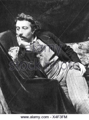 Gauguin, Paul, 7.6.1848 - 9.5.1903, französische Künstler (Maler), halbe Länge, 1891, Additional-Rights-Spiel-NA - Stockfoto