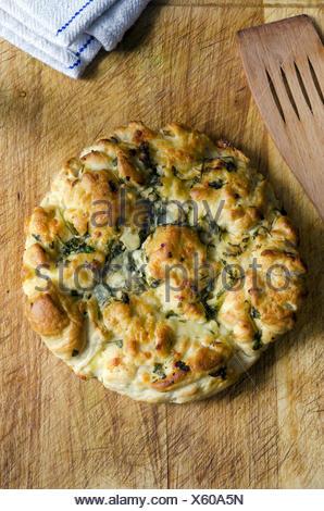 Italienischen Pecorino Provolone, Mozzarella und Brot.