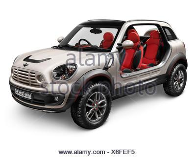 2010 Mini Beachcomber Concept Cars Ohne Tren Und Dach Stockfoto