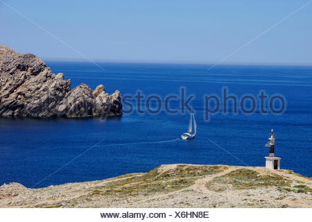 Geographie/Reisen, Spanien, Balearen, Menorca, Islds. In der Nähe von Fornells: Einlass zu Badia de Fornells, Additional-Rights - Clearance-Info - Not-Available - Stockfoto