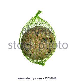 Fat Ball für gemeinsamen Garten Vögel füttern - Stockfoto