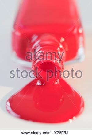 Nagellack Stockfoto