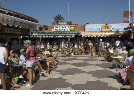 Strandpromenade - Stockfoto