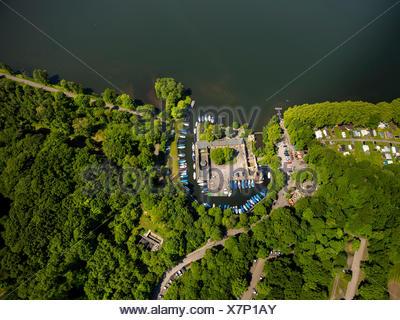 Haus Scheppen Manor Haus Am See Baldeney Luftaufnahme Fischlaken