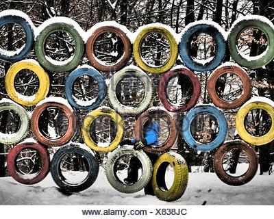 Klettergerüst Reifen : Klettergerüst aus reifen: wir lösen unseren kinderspielplatz auf das