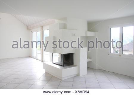 Schweiz, Haus, Wohnung, Einfamilienhaus, luxuriös, innen leer ...