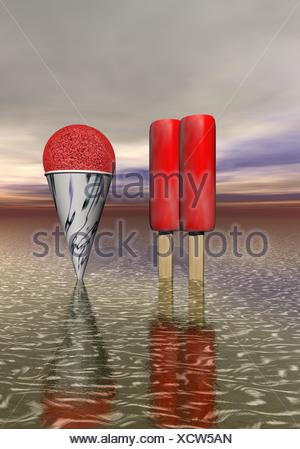Ice cream - Stockfoto