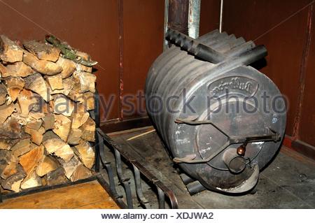 Heißluft-Ofen Bullerjan und ein Haufen Brennholz Protokolle ...