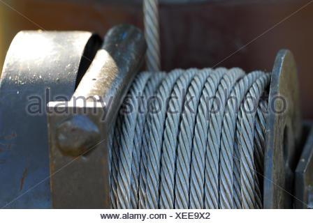 Stahl Metall Seile Attraktion Messenger Draht Kapazität Durchmesser ...