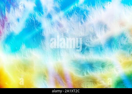 Wallpaper abstracto. Onda de luz multicolor de fondo para el diseño creativo de arte