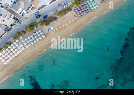 En Grecia, en las islas Cícladas, Agios Prokopios Naxos
