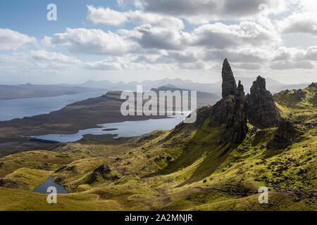 El Storr, Isla de Skye, Escocia Foto de stock