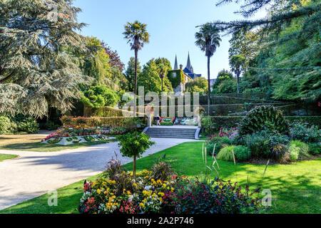 Francia, Manche, Cotentin, Coutances, el Jardin des plantes // Francia, Manche (50), de Cotentin, Coutances, Le Jardin des plantes